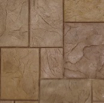 ashlar slate stamped concrete design