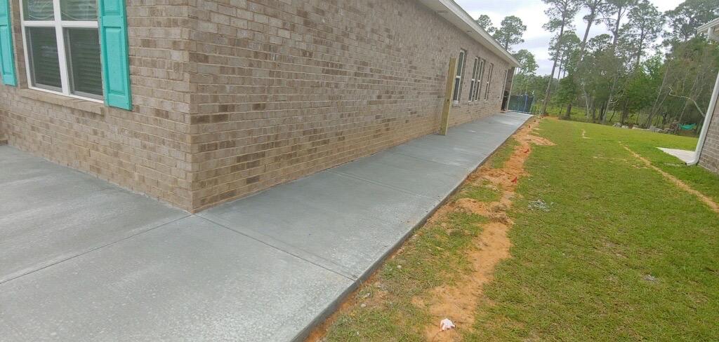concrete sidewalk mid cities