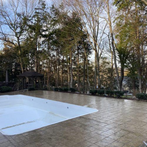 pool decks in mid cities